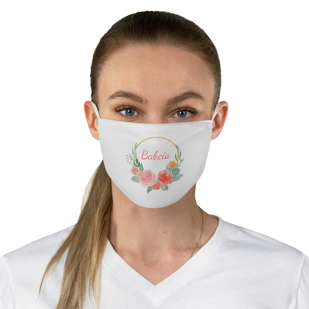 Babcia Face Mask - Polish Grandmother Face Covering