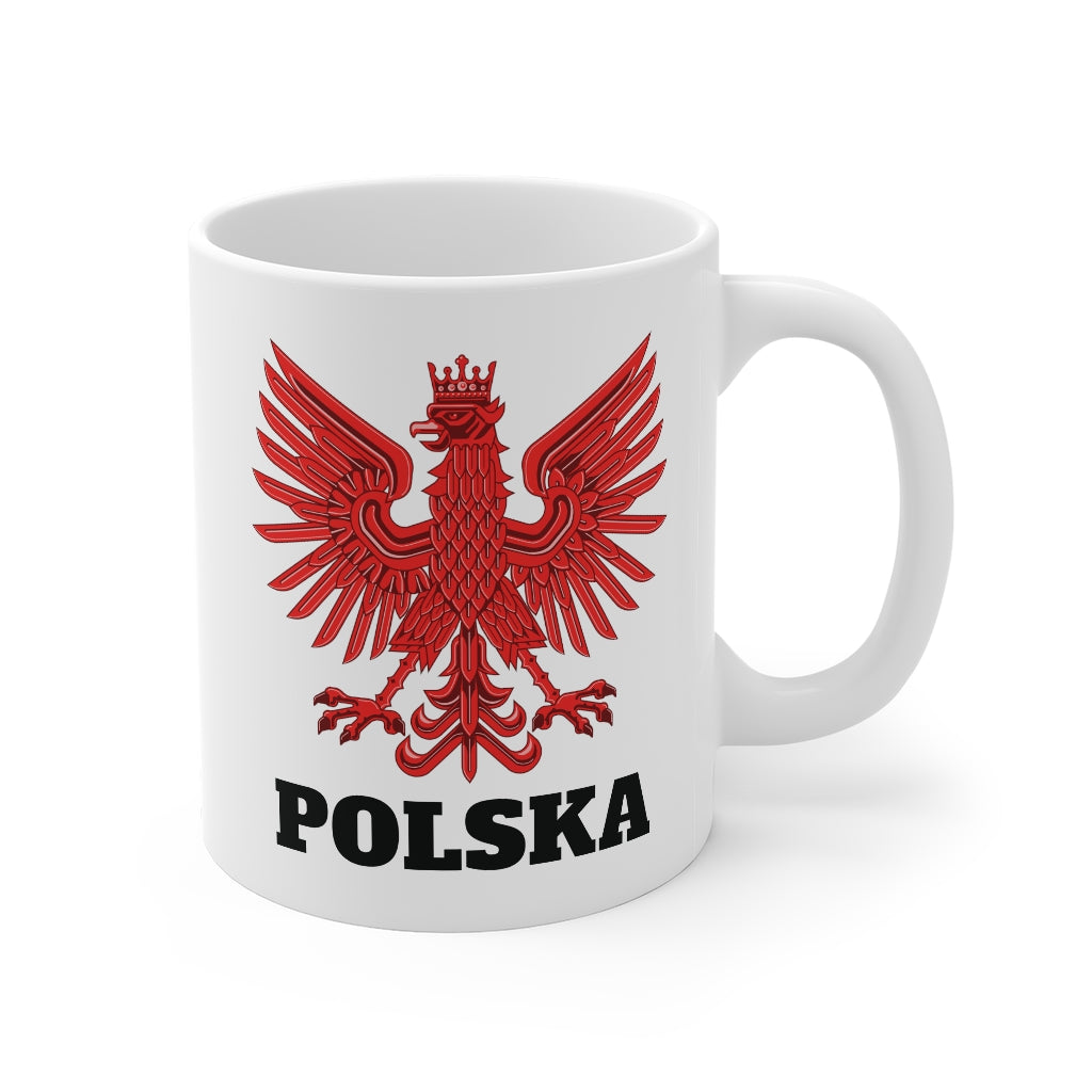 Polska Polish Eagle Mug 11oz