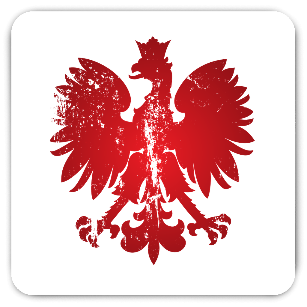 Polish Eagle Fridge Magnet - Grunge