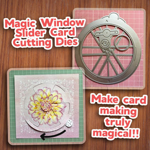 Magic Window Slider Card Cutting Dies - 5PCS SET