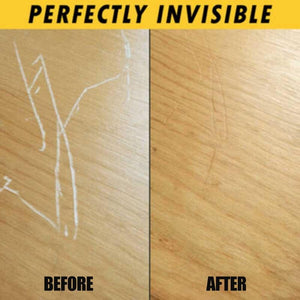 Fast Acting Wood Scratch Repair