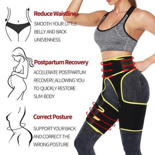 3-in-1 Butt Lifter, Thigh Trimmer & Tummy Flatter