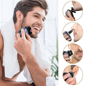 Wiktok® Men's 5-in-1 Electric Shaver & Grooming Kit