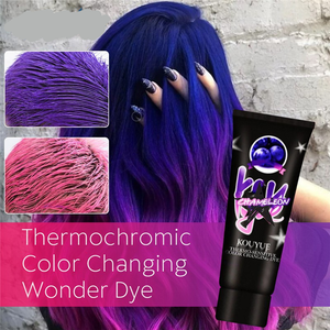 Thermochromic Color Changing Hair Dye