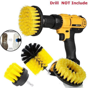 Power Scrubber Brush Drill Attachment Sets