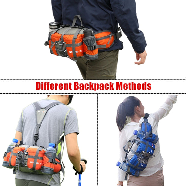 Waterproof Nylon Waist Bag - TheBackpackSupply -