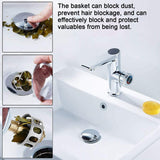 Baje™ Stainless Steel Pop-Up Sink Drain Filter