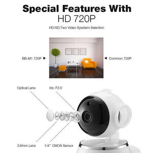 SMART WIFI CAMERA NIGHT VISION DETECTION
