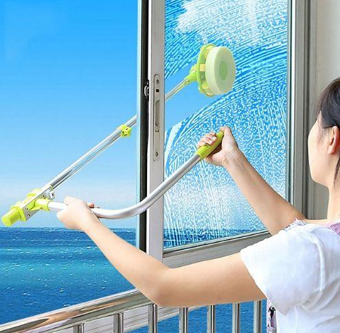 Retractable Window Cleaner