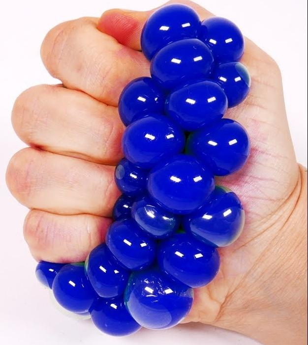 Mesh-Covered Color-Changing Mini Stress Balls