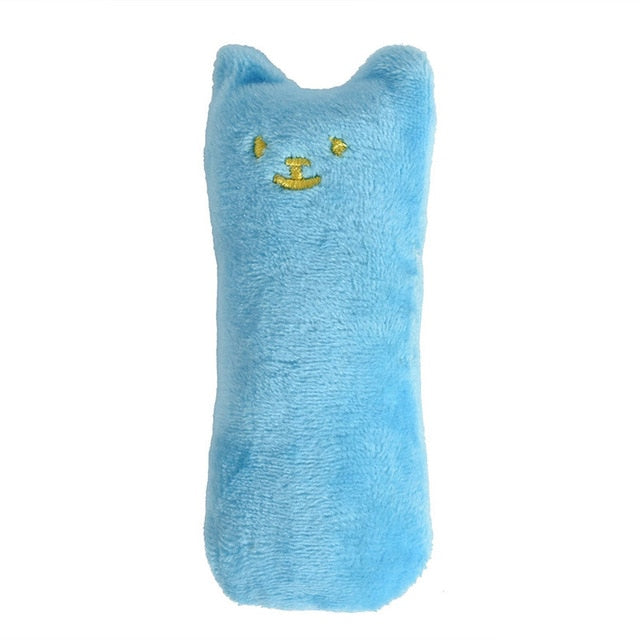 Mini Teeth Grinding Catnip Plush Cat Toy