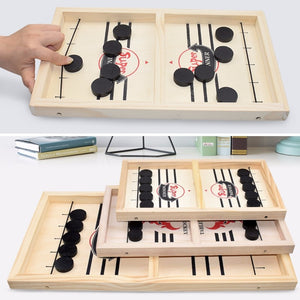 Baje™ Family Wooden Hockey Game