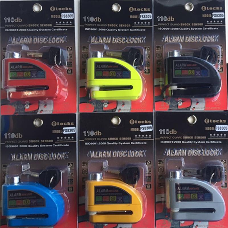 MOTORCYCLE DISC LOCK ALARM