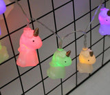 Unicorn string lights (Set of 10)