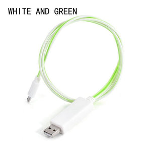 Charger Cable Glowing Flow