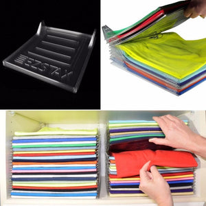 Effortless Clothes Organizer (10 pieces)
