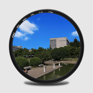 ZOMEI SLIM FRAME - THE CIRCULAR POLARIZING FILTER