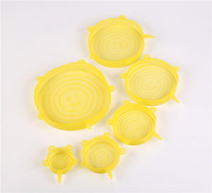 Silicone Stretch Storage Lids