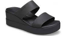 Load image into Gallery viewer, BROOKLYN MID WEDGE BLACK