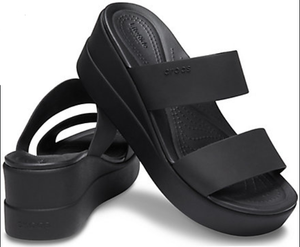 BROOKLYN MID WEDGE BLACK