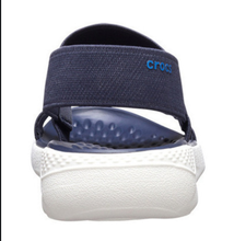 Load image into Gallery viewer, LITERIDE SANDAL NAVY WHITE