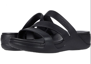 MONTEREY STRAPPY WEDGE BLACK