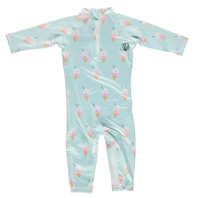 Aloha Ice-Cream Baby Swimsuit