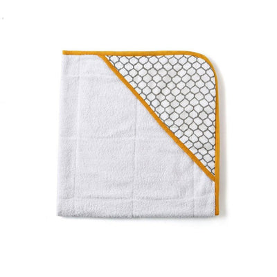 Hand Block Printed Cotton Towel - Erawan