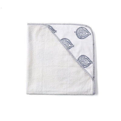 Hand Block Printed Cotton Towel - Fort