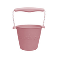Scrunch bucket dusty rose