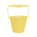 Scrunch bucket pastel yellow