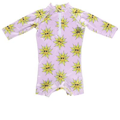 Sunny Flower Baby Swimsuit