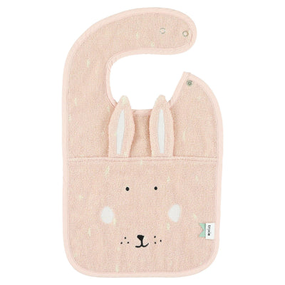 trixie baby bib mrs. rabbit