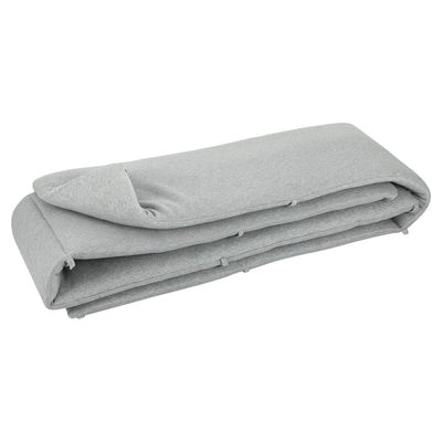 trixie cot bumper grain grey