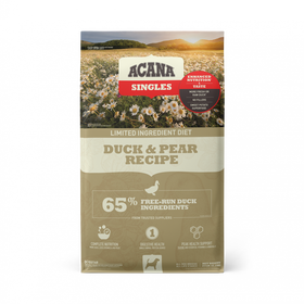 Acana Singles Duck & Pear Recipe