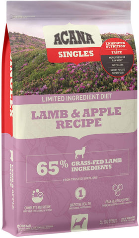 Acana Singles Lamb & Apple Recipe