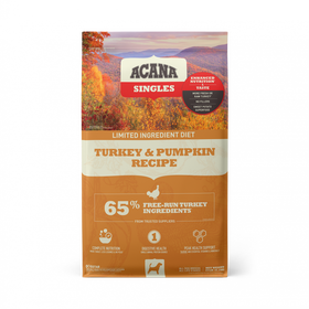 Acana Singles Turkey & Pumpkin Recipe