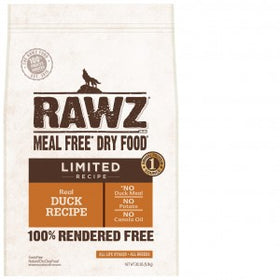 rawz dog lid duck 10lb