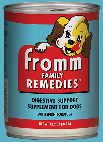 Fromm Remedies Whitefish Formula | Digestive Support Supplement for Dogs