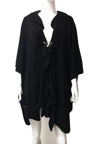 Cape - One size (Black)
