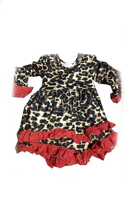 Girls Leopard Tunic (2T-7Y)