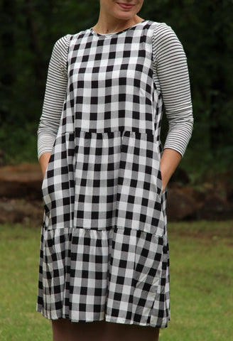 Buffalo Check Tunic (S-2XL)