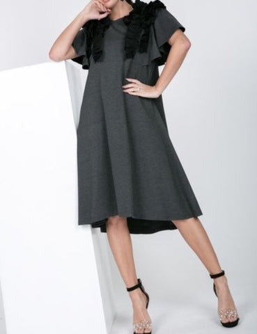 Belle Frill Dress (S-L)