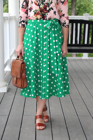 Eloise Dotted Skirt {S-XL}