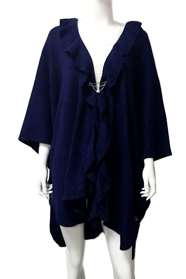 Cape - One size (Navy)