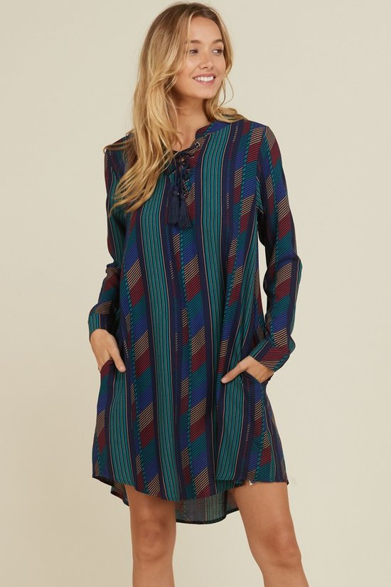 Teal/Navy Tunic (S-L)
