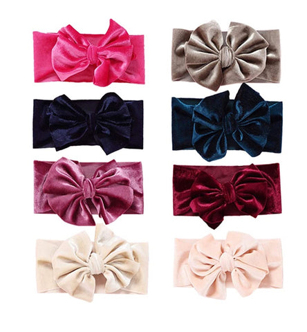 *Child Velvet Headbands