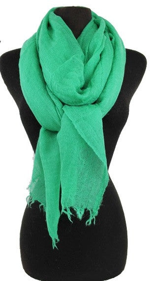 Solid Scarf {GREEN LEFT}