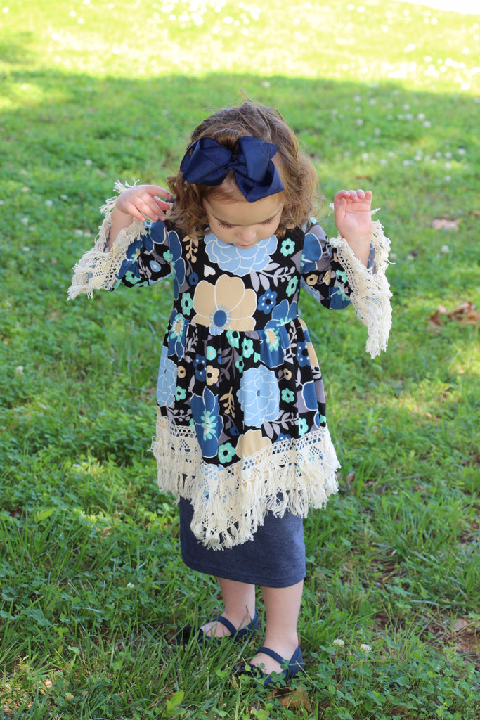 Girls Floral Tunic