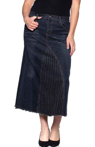Denim Skirt ~ A-Line